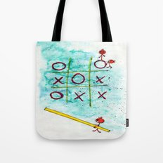 Tic Tac Toc Win Win! Tote Bag