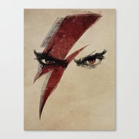 heroes Canvas Prints featuring Heroes by Badaro