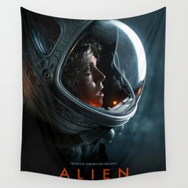 Alien (1979) Vintage Movie Poster Canvas Wall Art Wall Tapestry
