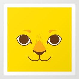 Little Lion Art Print