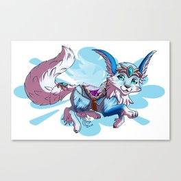 Vulpine mount Canvas Print