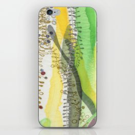 Silk garden iPhone Skin