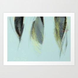 Morceaux/Pieces 9 Art Print