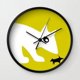Lazy dog Wall Clock