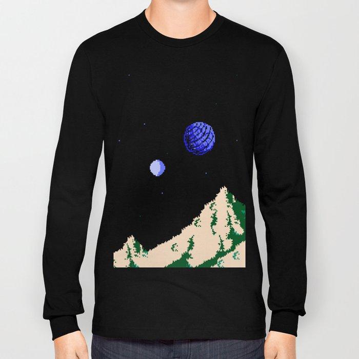 Twin Moons World Long Sleeve T-shirt