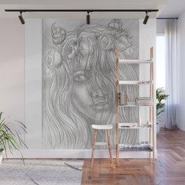 Goddess Flora Wall Mural