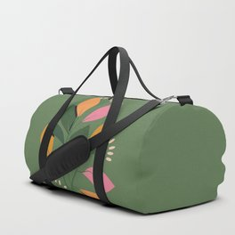 Be Here Now - Yellow, Pink + Green Duffle Bag
