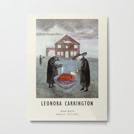 Poster-Leonora Carrington-Bird bath. Metal Print