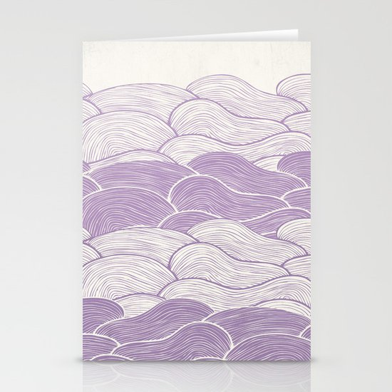 The Lavender Seas Stationery Cards
