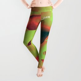 Trust your heart and let faith Decide. Leggings