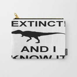 Extinct T-Rex Carry-All Pouch