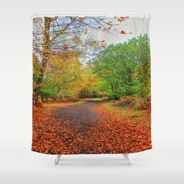 Autumn Dream Shower Curtain