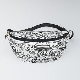 Hope abstract marker doodle Fanny Pack