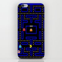 pacman iPhone & iPod Skins featuring Pacman by Dano77