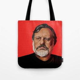 Slavoj Žižek Portrait Tote Bag