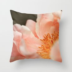 Paeonia #3 Throw Pillow