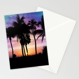 Hot Summer Nights In Palms Stationery Cards