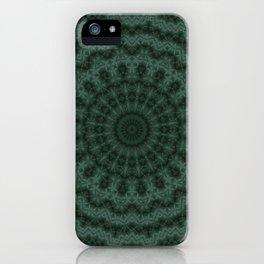 Green ornament iPhone Case