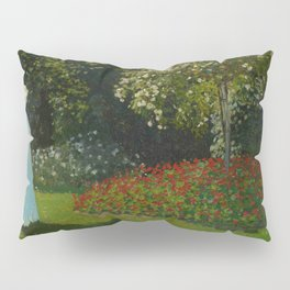 Lady in the Garden Pillow Sham