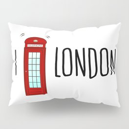 Love London Pillow Sham