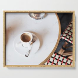 Paris Coffee Serving Tray