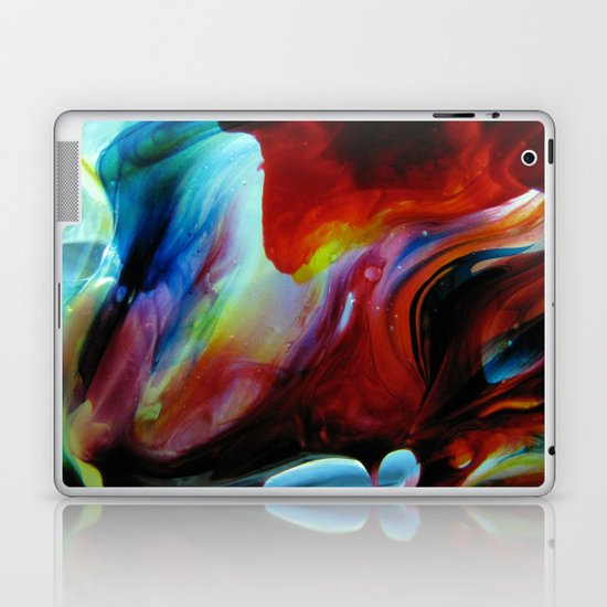 Rainbow Nebula Laptop & iPad Skin
