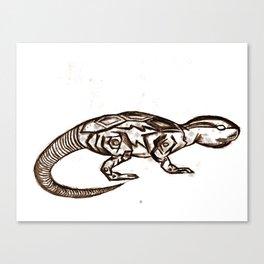 ROBOT ANIMAL ILLUSTRATION Canvas Print