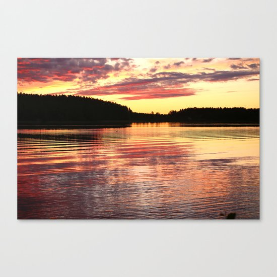 Summer Evening  Canvas Print