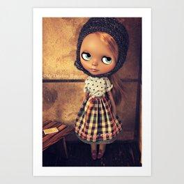 My Delicious Bliss Custom Doll Angelique Art Print