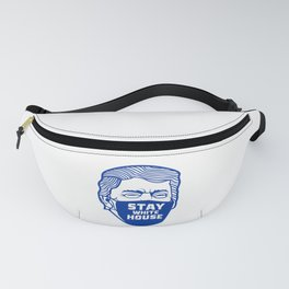 Stay White House Trump Funny Design Fanny Pack