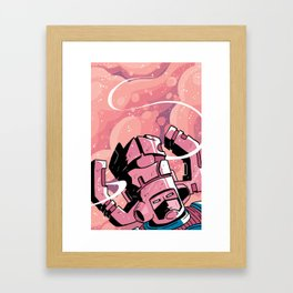 He Eats Planets for breakfast! Framed Art Print