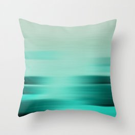 """Abstract Ocean Porstroke (Pattern)"" Throw Pillow"