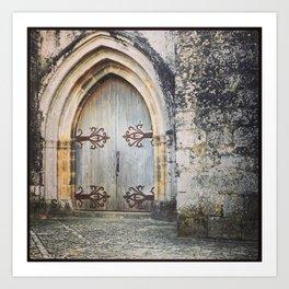 French Chapel Door Art Print