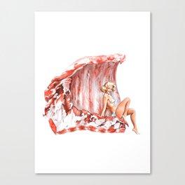 Spare Ribs Canvas Print