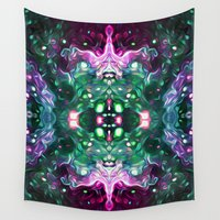 kaleidoscope Wall Tapestries featuring Kaleidoscope by Mark Kriegh