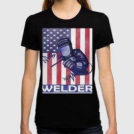Funny Welder graphic Best Welding print Proud Welders Gift T-shirt