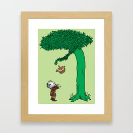 The Giving Yggdrasil Framed Art Print