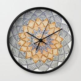 Rangoli 3 Wall Clock