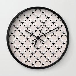 Mod Cream Wall Clock