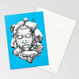 Stone Head of Abeokuta Stationery Cards