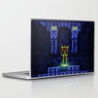 metroid Laptop & iPad Skins featuring Metroid by likelikes