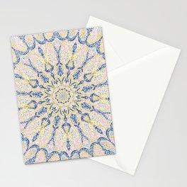 Pointillism mosaic 097 Stationery Cards