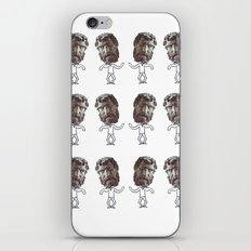 dancing heads iPhone & iPod Skin