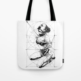 Restrained In Geometry. ©Yury Fadeev Tote Bag