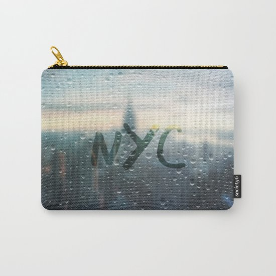 Rainy Day in NYC Carry-All Pouch