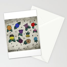 Floral flash Stationery Cards
