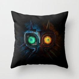 Majora Mask  Throw Pillow