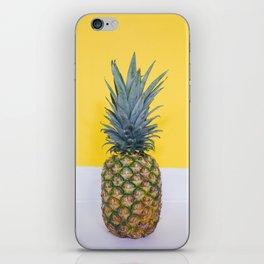 Pineapple on Yellow iPhone Skin