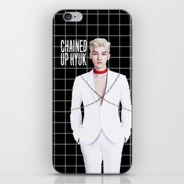 Chained Up Hyuk iPhone Skin
