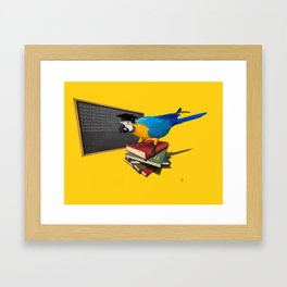 Repeat (Colour) Framed Art Print